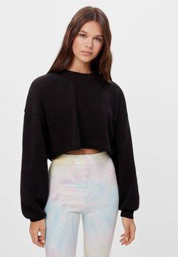 Bershka - Sweatshirt - black