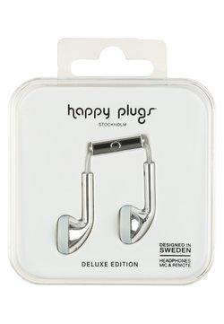 Happy Plugs - Høretelefoner - silver