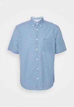 Marc O'Polo - BUTTON DOWN SHORT SLEEVE - Koszula - kashmir blue