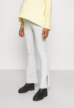 Cotton On - MATERNITY FRIENDLY SPLIT SIDE MATCH BACK PANT - Leggings - washed grey