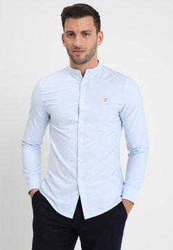 Farah - BREWER GRANDAD - Camisa - blue
