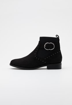 ONLY SHOES - ONLBOBBY LIFE BUCKLE BOOT  - Stiefelette - black