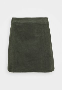 Glamorous - MINI SKIRT - Minirok - dark green