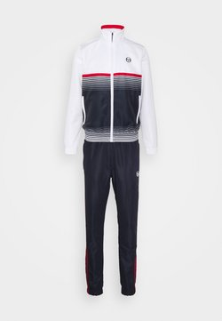 sergio tacchini - ALABAMA TRACKSUIT SET - Trainingsanzug - blanc de blanc/night sky