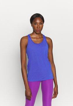 Nike Performance - YOGA LAYER TANK - Camiseta de deporte - lapis/sapphire