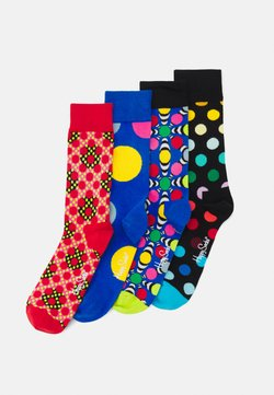 Happy Socks - CLASSIC DOTS GIFT SET CREW SOCKS 4 PACK - Chaussettes - multi-coloured