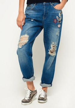 Superdry - HARPER - Relaxed fit jeans - blue