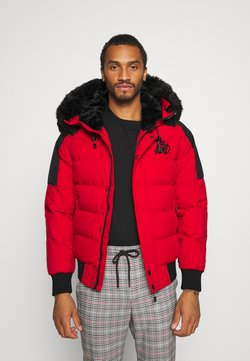 Kings Will Dream - PUFFER BOMBER JACKET - Winterjacke - red