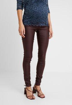 MAMALICIOUS - Slim fit jeans - decadent chocolate
