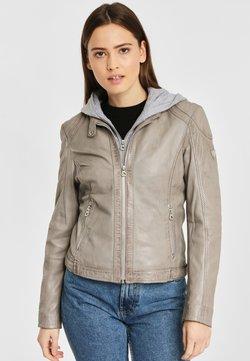 Gipsy - AELLY LAMAS - Leren jas - light grey