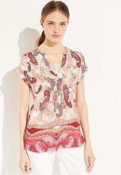 comma - T-Shirt print - rose summer paisley