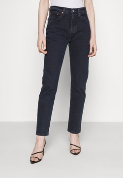 Levi's® - 501® CROP - Jeans slim fit - deep dark