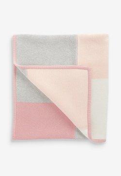 Next - PATCHWORK  - Babydecke - pink