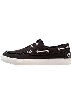 Timberland - UNION WHARF 2 EYE - Chaussures bateau - black