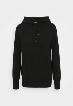 Marks & Spencer London - HOODY - Maglione - black