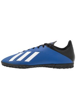 adidas Performance - X 19.4 TF - Astro turf trainers - royal blue/footwear white/core black