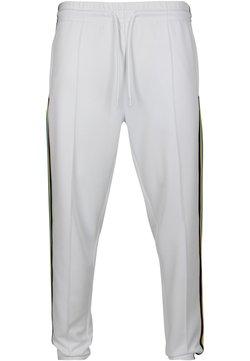 Urban Classics - Jogginghose - white/multicolor