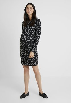 Supermom - DRESS POPPY - Gebreide jurk - black