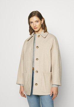 Topshop - OREGON SHACKET - Classic coat - beige