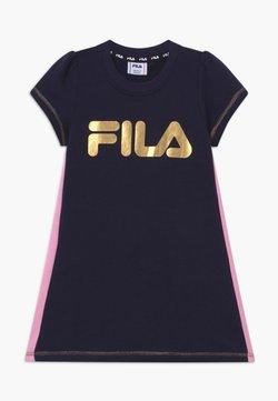 Fila - GIULIA TEE - Vestido informal - dark blue