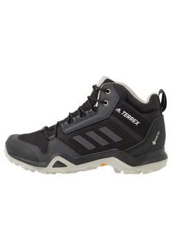 adidas Performance - TERREX AX3 MID GORE-TEX - Outdoorschoenen - core black/dough solid grey/purple tint