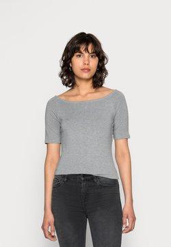Modström - TANSY  - T-Shirt basic - grey melange