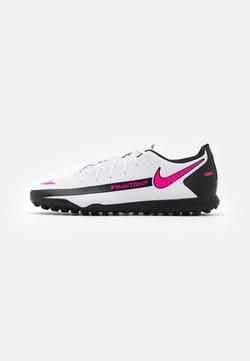 Nike Performance - PHANTOM GT CLUB TF - Voetbalschoenen voor kunstgras - white/pink blast/black