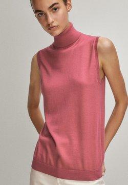 Massimo Dutti - Top - neon pink