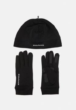 Endurance - GUBENG RUNNING SET UNISEX - Mütze - black