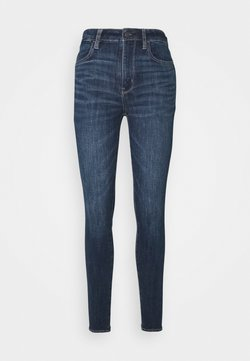 American Eagle - SUPER HIGH RISE - Jeans Slim Fit - night time navy