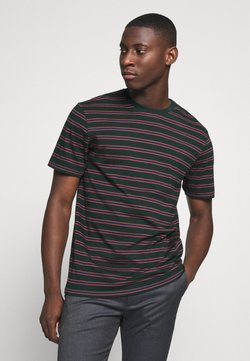 Only & Sons - ONSMEL LIFE STRIPE TEE - T-shirt con stampa - scarab