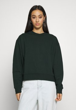 Weekday - HUGE CROPPED - Sweater - bottle green
