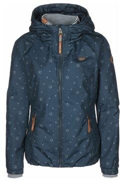 Ragwear - Regenjacke / wasserabweisende Jacke - denim blue