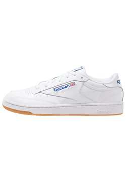 Reebok Classic - CLUB C 85 LEATHER UPPER SHOES - Baskets basses - white/royal