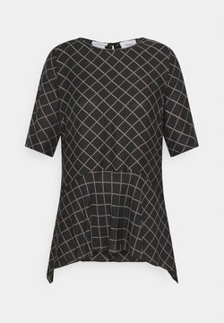 Marc O'Polo PURE - PRINTED SHORT SLEEVES - Camicetta - black