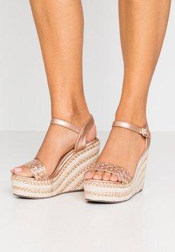 Tata Italia - Sandalen met hoge hak - rosegold