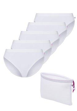 BeeDees - 5PACK - Slip - weiß