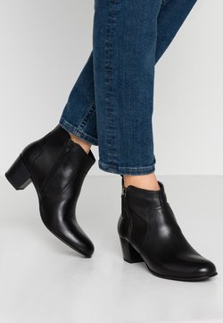 Anna Field Wide Fit - LEATHER BOOTIES - Boots à talons - black