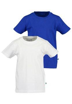 Blue Seven - 2 PACK - T-shirt basic -  weiss  royal