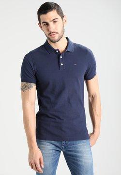 Tommy Jeans - ORIGINAL FINE SLIM FIT - Poloshirt - black iris