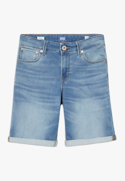 Jack & Jones Junior - JJIRICK JJICON - Jeansshort - blue denim