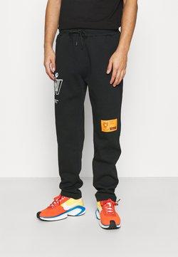 Topman - PRINTED BUNGY - Jogginghose - black