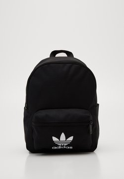 adidas Originals - SMALL ADICOLOR BACKPACK - Reppu - black