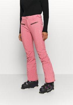 Brunotti - SILVERLAKE MELANGE WOMEN PANT - Talvihousut - pink grape