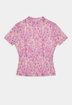 NA-KD - SHORT SLEEVE - T-Shirt print - lilac