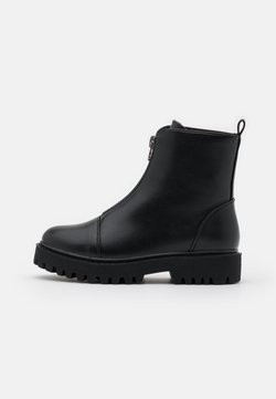 Even&Odd Wide Fit - Bottes de neige - black