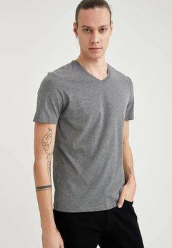 DeFacto - T-shirt basique - anthracite