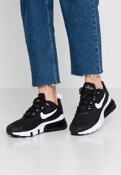 Nike Sportswear - AIR MAX 270 REACT - Sneakersy niskie - black/white
