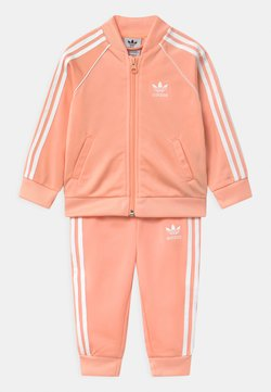 adidas Originals - SET UNISEX - Trainingspak - glow pink/white