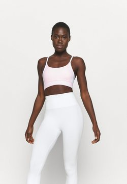 Cotton On Body - COLOUR BLOCK CROP - Sujetador deportivo - pink sherbet
